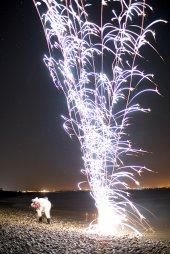 fajerwerki i nowy rok