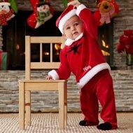 świąteczna fotografia dziecka